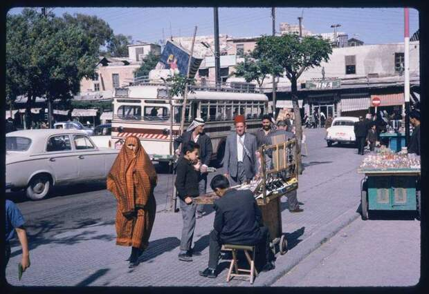 Эти старые фотографии показывают, как столица Сирии выглядела полвека назад