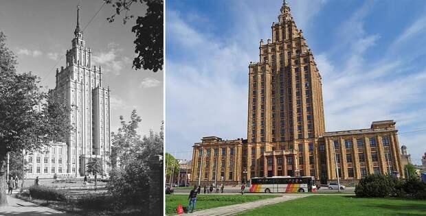 Где за рубежом тоже есть сталинские высотки?