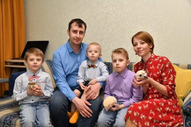 Семья Воронковых / Фото: Денис Афанасьев
