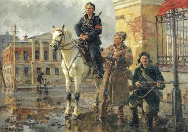 Мифы и правда о Великой Октябрьской социалистической революции.