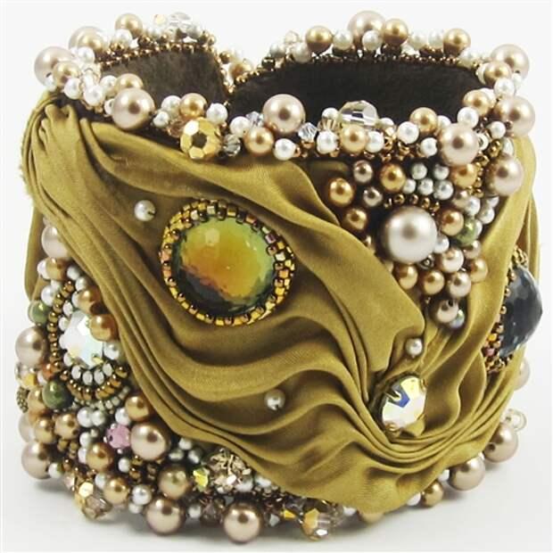Роскошные браслеты в стиле шибори