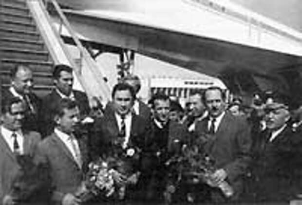 Самолет в Ташкенте 20.09.72 года.