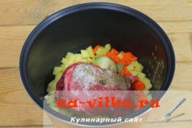 Суп из нутрии в мультиварке