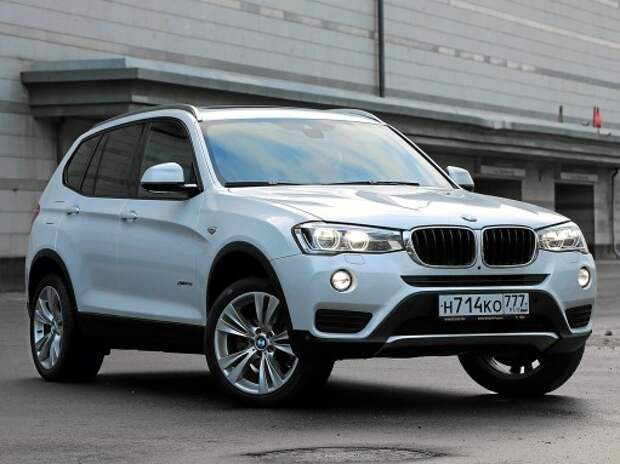 BMW X3: вспомнить все