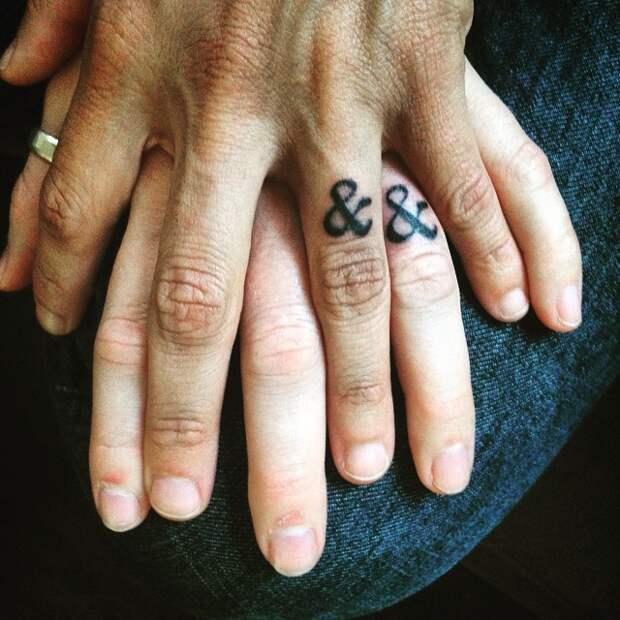 Минималистичные татуировки
