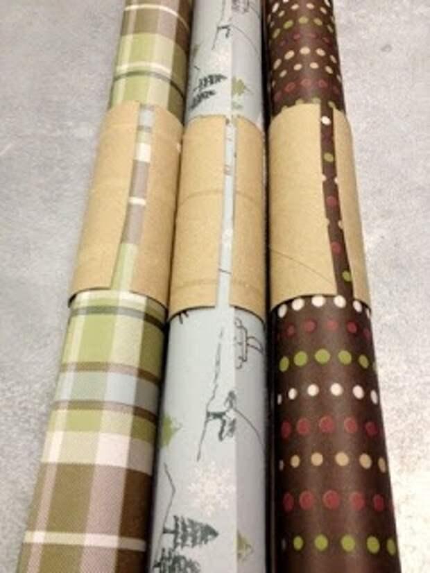 Как хранить бумагу для упаковки!