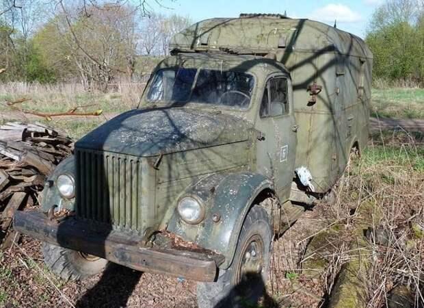 Было решено его приобрести и восстановить. ГАЗ-63, авто, автомобили, восстановление, газ, грузовик, реставрация