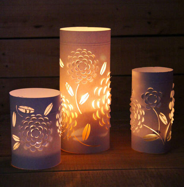 Picture of Dimensional Paper Lanterns