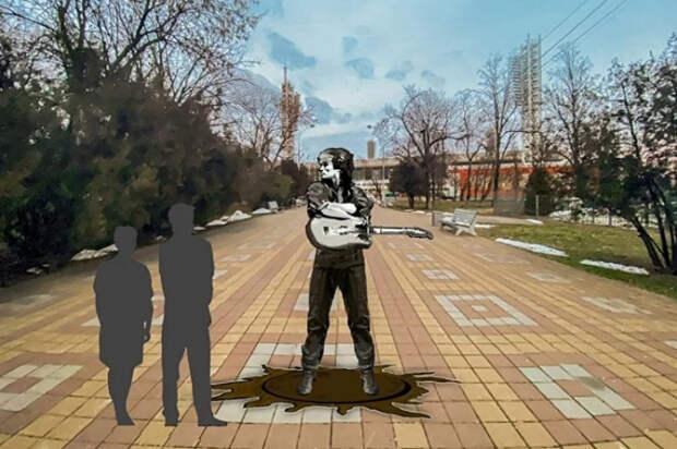 В столице Кубани откроют памятник Виктору Цою