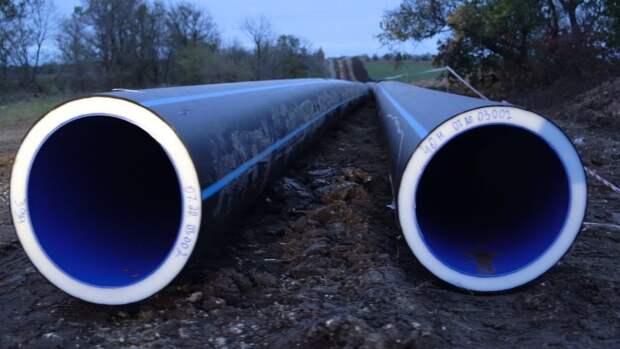 В Крыму начали работу по прокладке труб для Симферопольского водовода