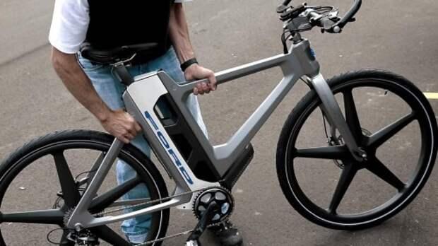 Электрический велосипед Ford Mo:De Flex