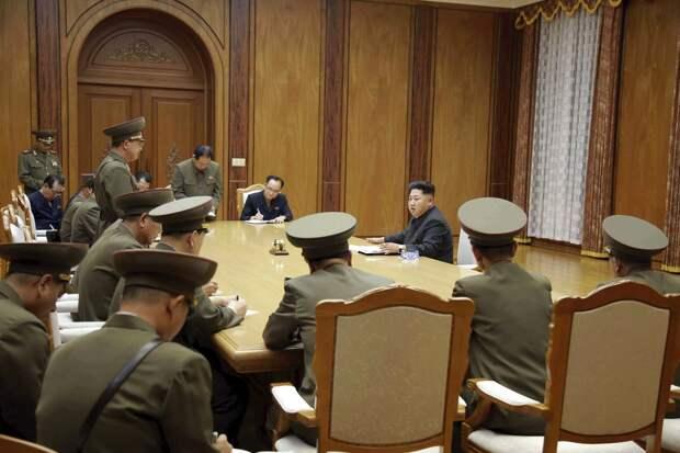 Военное напряжение на границе Северной и Южной Кореи