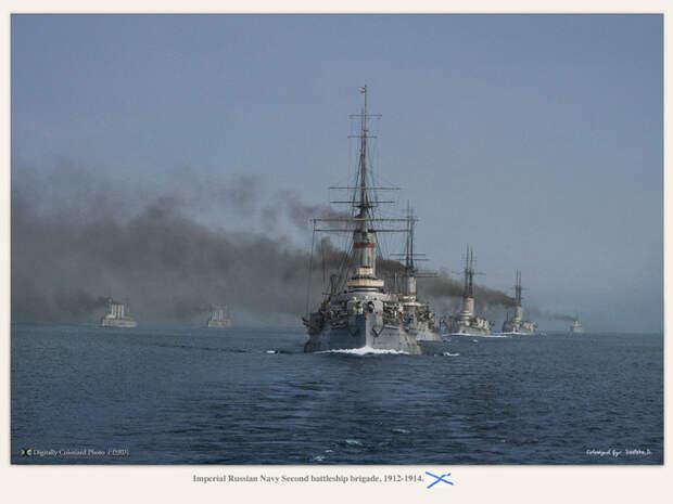 Русский броненосный флот глазами японцев.