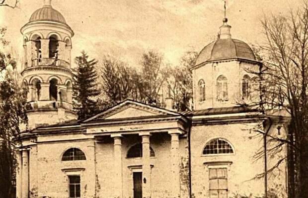 Церковь Благовещения Пресвятой Богор в Соколове. Фото предоставлено Химкинским краеведческим обществом