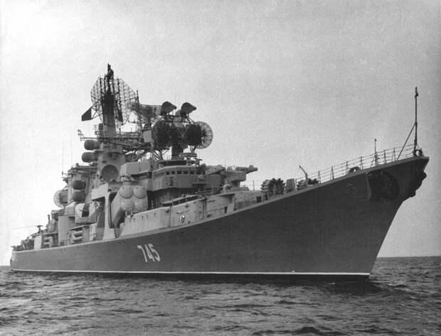 """БПК """"Очаков"""". 1979 год. Фото - forums.airbase.ru"""