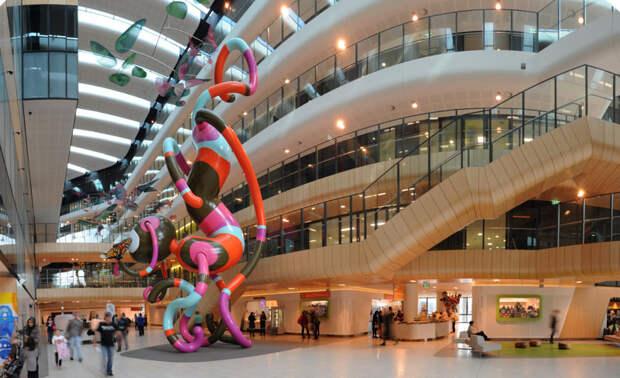 20. The Royal Children's Hospital, Мельбурн, Австралия. больницы, дети