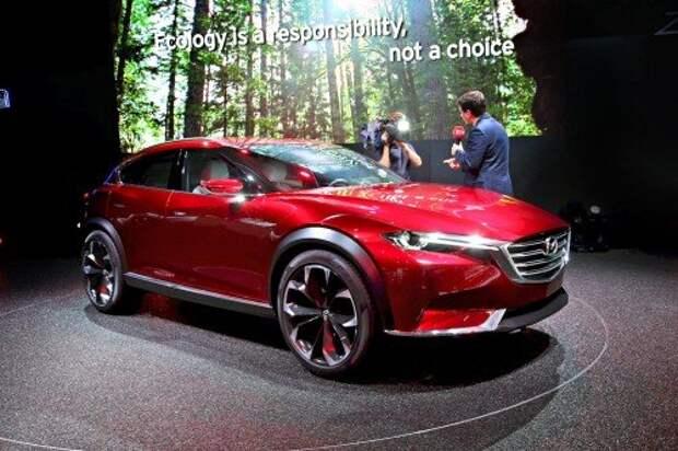 Купеобразная Mazda Koeru «выходит за рамки»