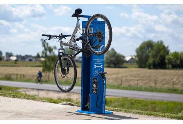 В центре Челябинска установят две станции для ремонта велосипедов