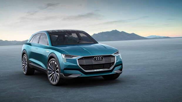 Электрический кроссовер Audi e-tron quattro дебютировал на Франкфуртском автосалоне