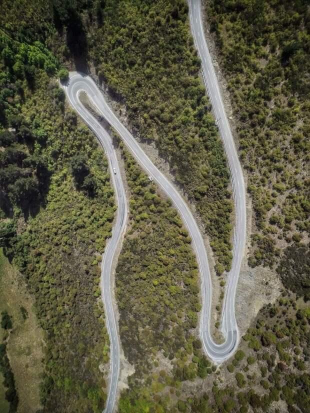 Панорамные снимки Новой Зеландии с высоты птичьего полета