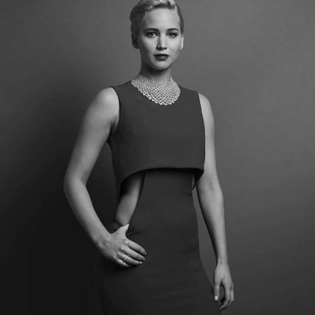 """Потрясающие черно-белые фотографии звезд на церемонии вручения """"Золотого глобуса"""""""