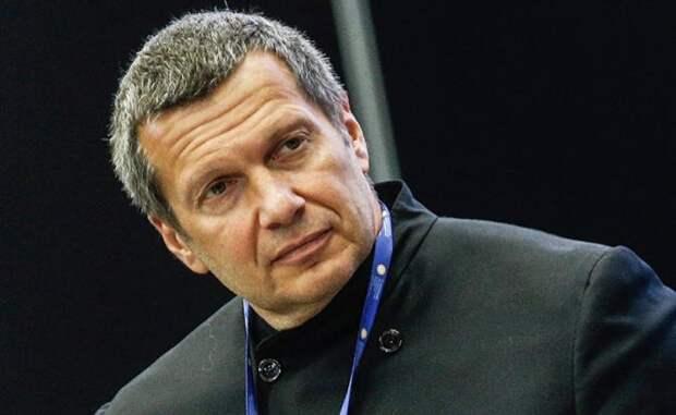 На фото: телеведущий Владимир Соловьев