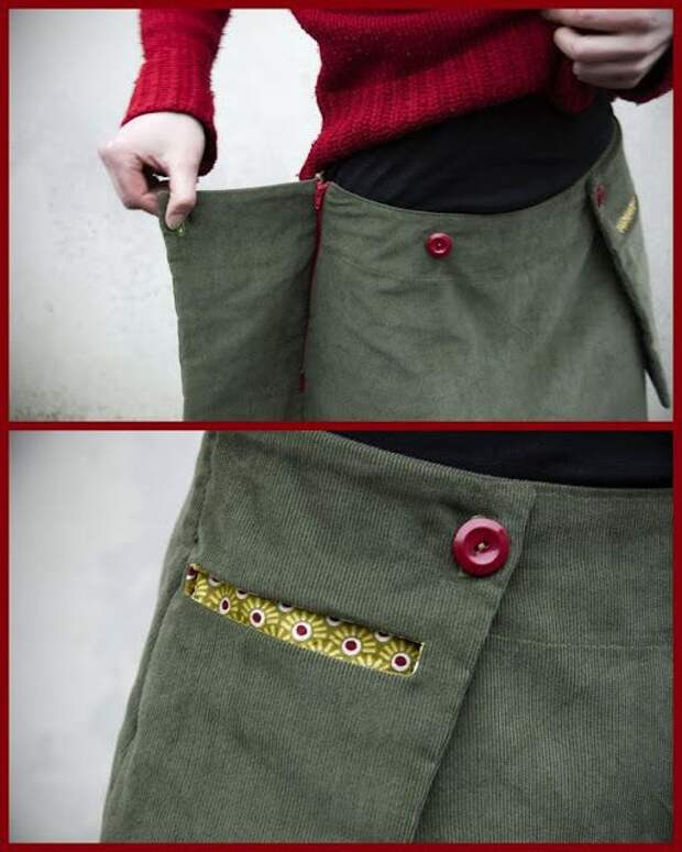 Необычная идея для юбки