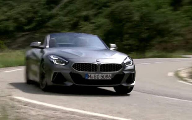 Новый BMW Z4: смотрите сами, слов не нужно!
