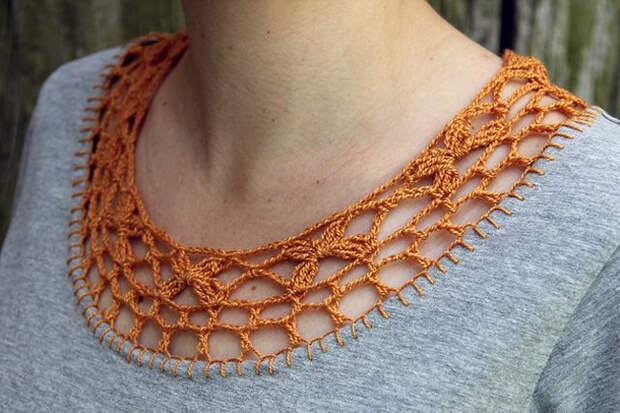 Декор одежды крючком: 40 оригинальных идей