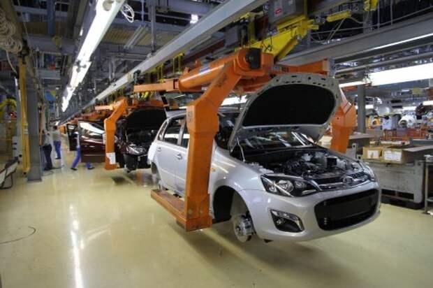 АВТОВАЗ остановит производство автомобилей на майские каникулы