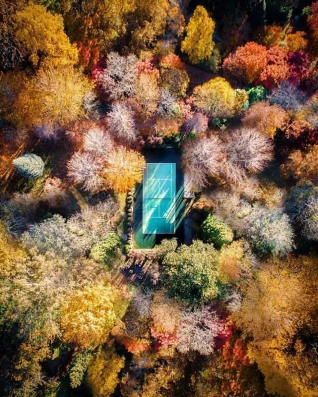 Фотографии с высоты птичьего полета Demas Rusli