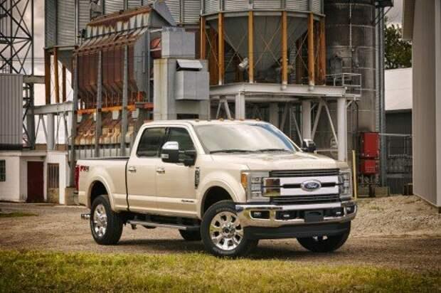 Ford обновил тяжелые пикапы F-серии