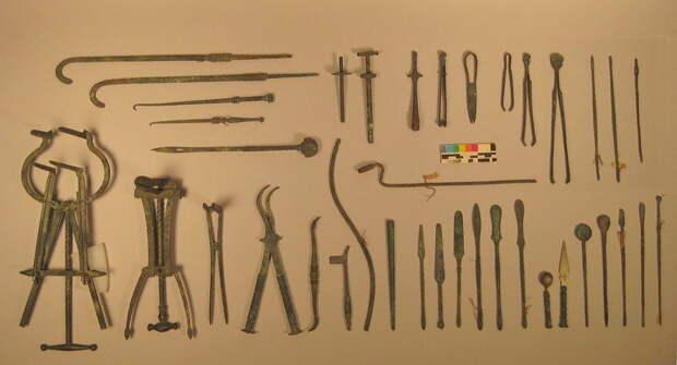 Набор римских хирургических инструментов - Исцеляющие руки | Warspot.ru