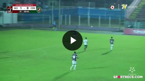 Juventus 2 x 1 Concórdia - Melhores Momentos - 11ª rodada - Campeonato Catarinense (21/04/2021)