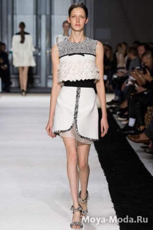 Модные юбки весна-лето 2015 Giambattista Valli