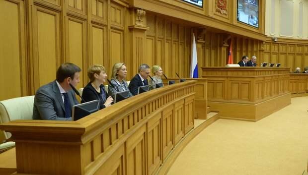 Почти 80% наказов избирателей выполнили депутаты Мособлдумы в 2018 году