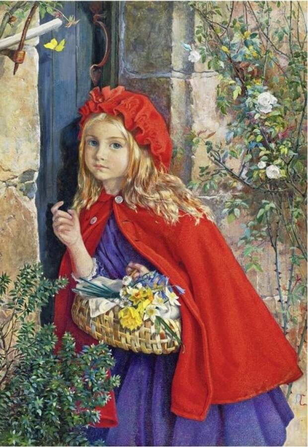 Isabel Oakley Naftel. Красная Шапочка / Little Red Riding Hood