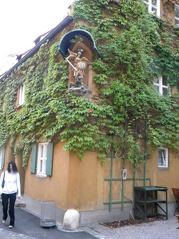 Социальный район в Аугсбурге.