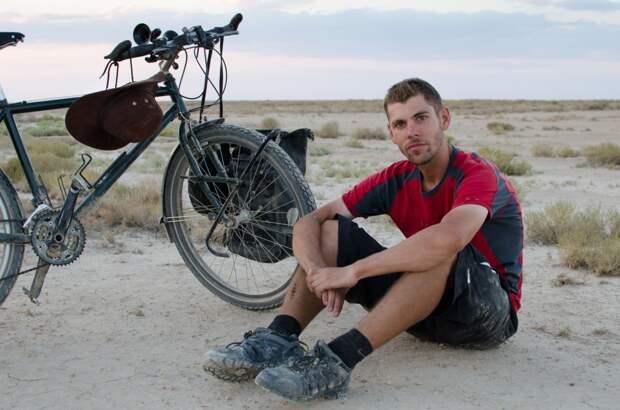Велосипедист совершил невероятное путешествие – 22530 километров по Азии