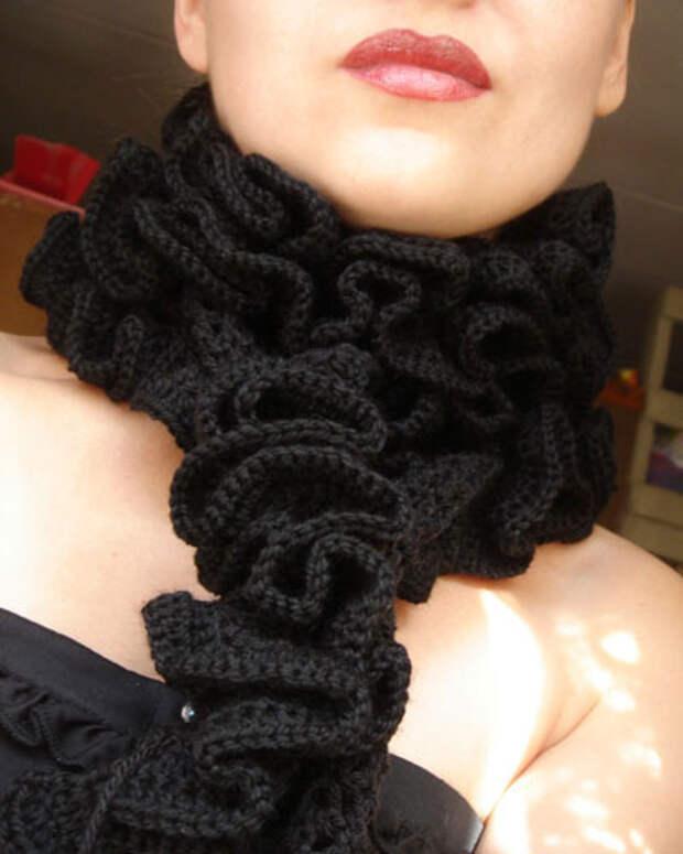 Необычные шарфы «Вивьен» и «Бриошь». 25 завораживающих идей