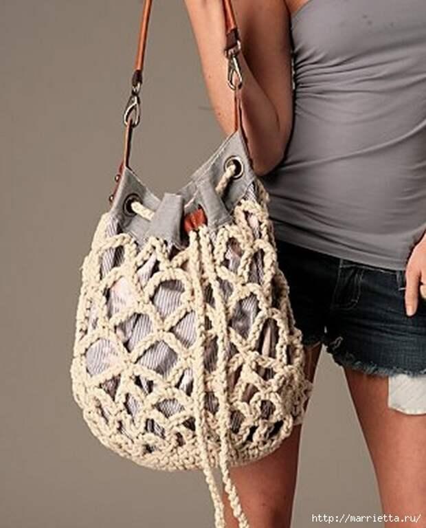 Веревочная идея для летней сумочки (1) (469x581, 148Kb)