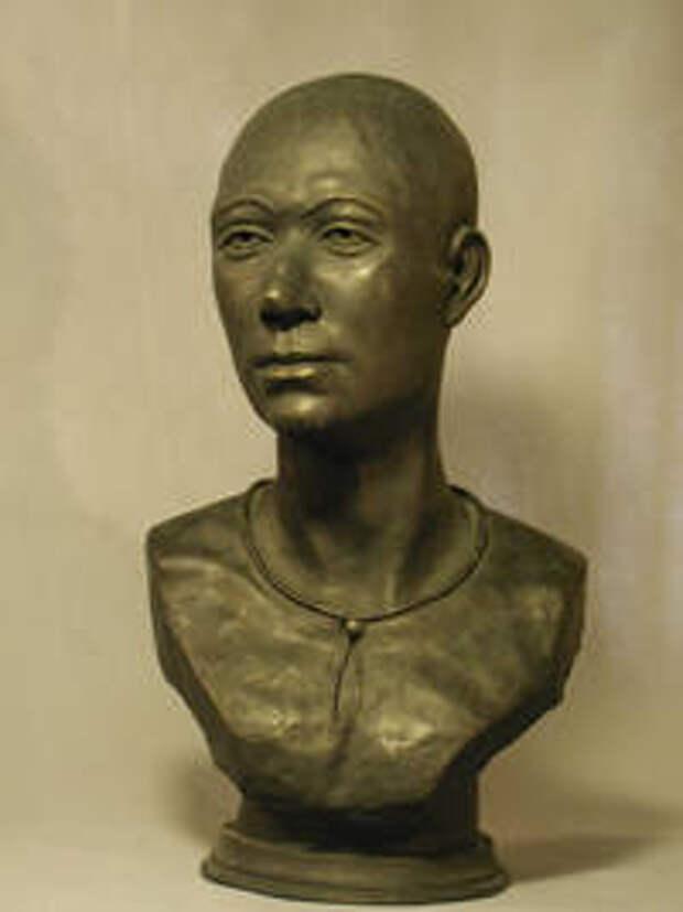Алтайская леди. Автор реконструкции Т.С. Балуева