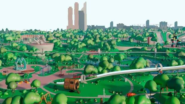 Москвичи смогут виртуально посетить международную выставку «Город: детали»