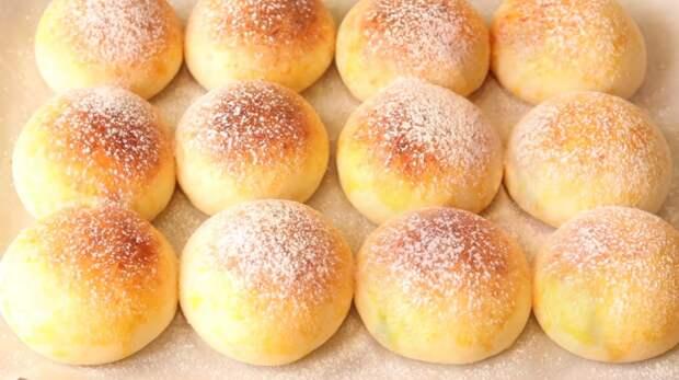 Рецепт нежнейших булочек на творожном бездрожжевом тесте. Идеальный вариант для завтрака!