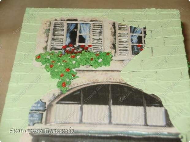 Декор предметов Мастер-класс 8 марта День рождения Декупаж МК Чайного домика Бумага Дерево Крупа фото 30