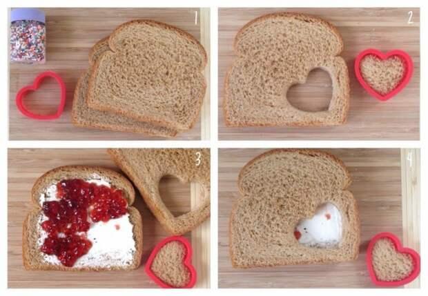 Бутерброд с сюрпризом (Diy)