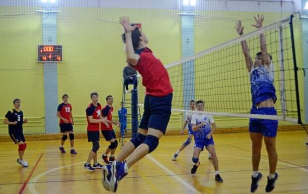 Волейболисты из СВАО выиграли первенство России