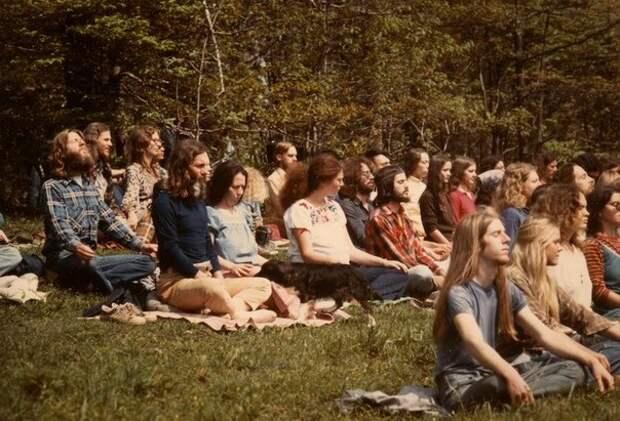 Жизнь хиппи в коммунах, США, 70-е
