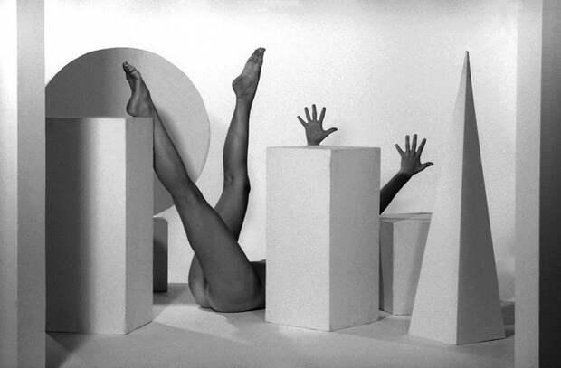 Изобретательные ню фотографии от немецкого фотографа Гюнтера Кнопа