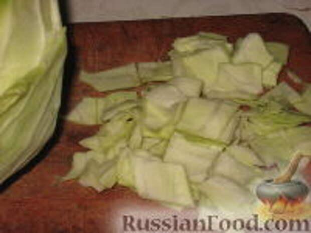 Фото приготовления рецепта: Восточный салат из капусты - шаг №4